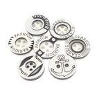 4 Holes classic black white resin shirt button for children's clothing