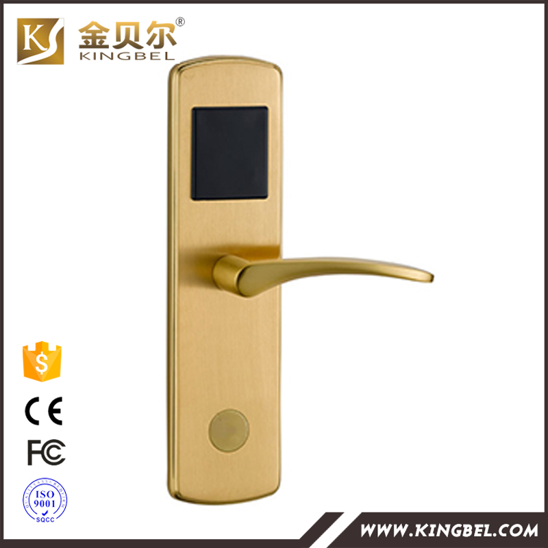 High Security Electronic Hotel card Door Lock with free software