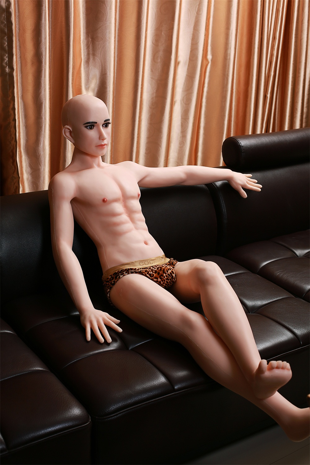 Women Fucking Male Silicone Doll 96