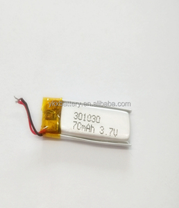 Raw batteries material rechargeable 3.7v lithium ion battery for digital products with car battery customized