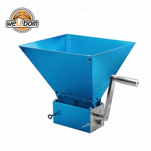 Stainless Steel 3-Roller Barley Malt Mill Grinder Crusher Grain Mill or Home Beer brewing Best Quality