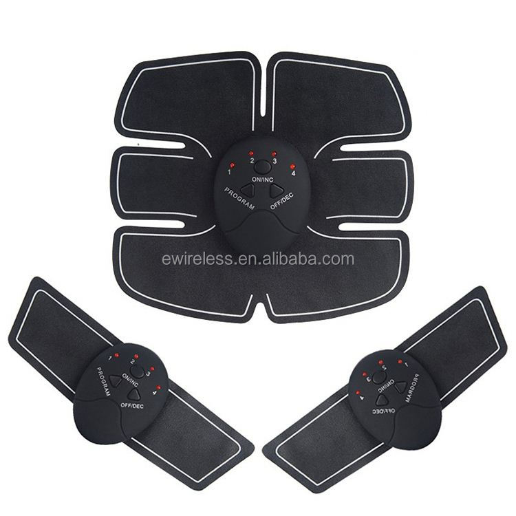 OEM Logo body messager EMS ab trainer with 6 massage modes