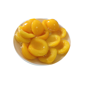 820g Canned Yellow Peaches in Syrup in Halves/Dice/Slice