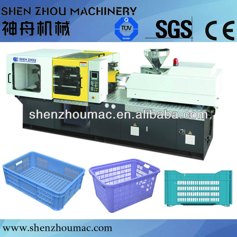 lower price vegetable fruit plastic crate making machine