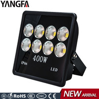 outdoor light cover 220 volt golden eye 8 COB 400W led flood light 400 watt project light