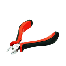 Free sample 2018 Well-priced 115mm Side Cutting C Type Hog Ring Mini Pliers With Plastic Handle