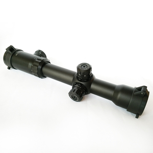 Secozoom 30mm Rifle Scope 1-12X30 Long Eye Relief Scopes Military Tactical Hunting Rifle Scope