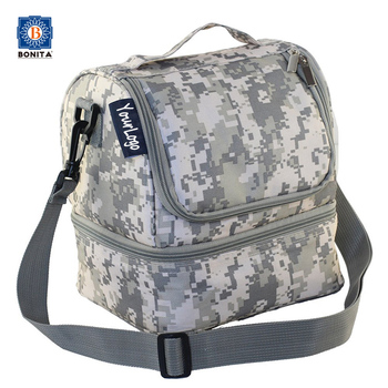 Tactical Cooler Bag Lunch Pack Insulated Tote With Shoulder Strap