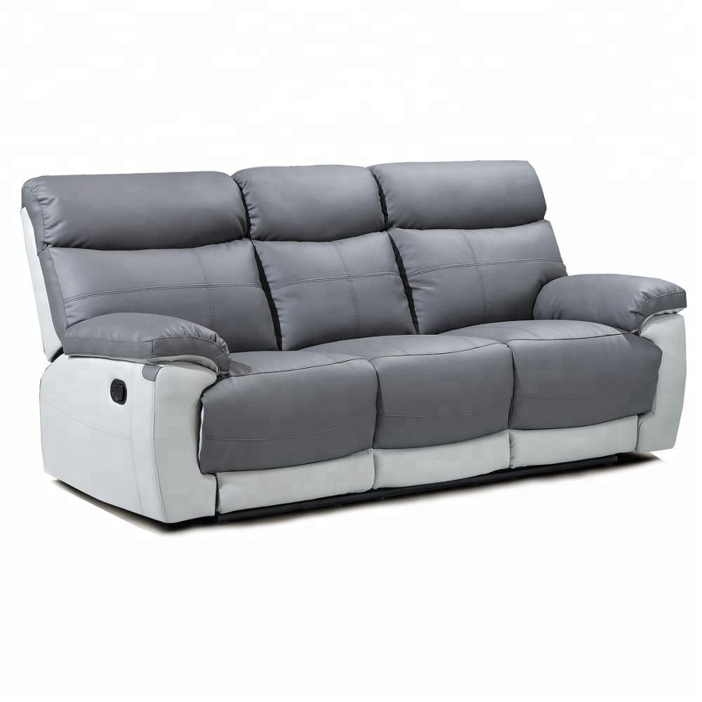 3 Seater Recliner Sofa Cover Armrest For Comfortable Cut Sew