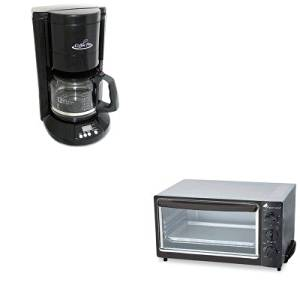 KITOGFCP333BOGFOG22 - Value Kit - Coffee Pro Multi-Function Toaster Oven with Multi-Use Pan (OGFOG22) and Coffee Pro Home/Office 12-Cup Coffee Maker (OGFCP333B)