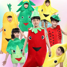 20pcs lot Free Shipping Fruit Vegetable Design Kids Boys and Girls Stage Performance Carnival font b