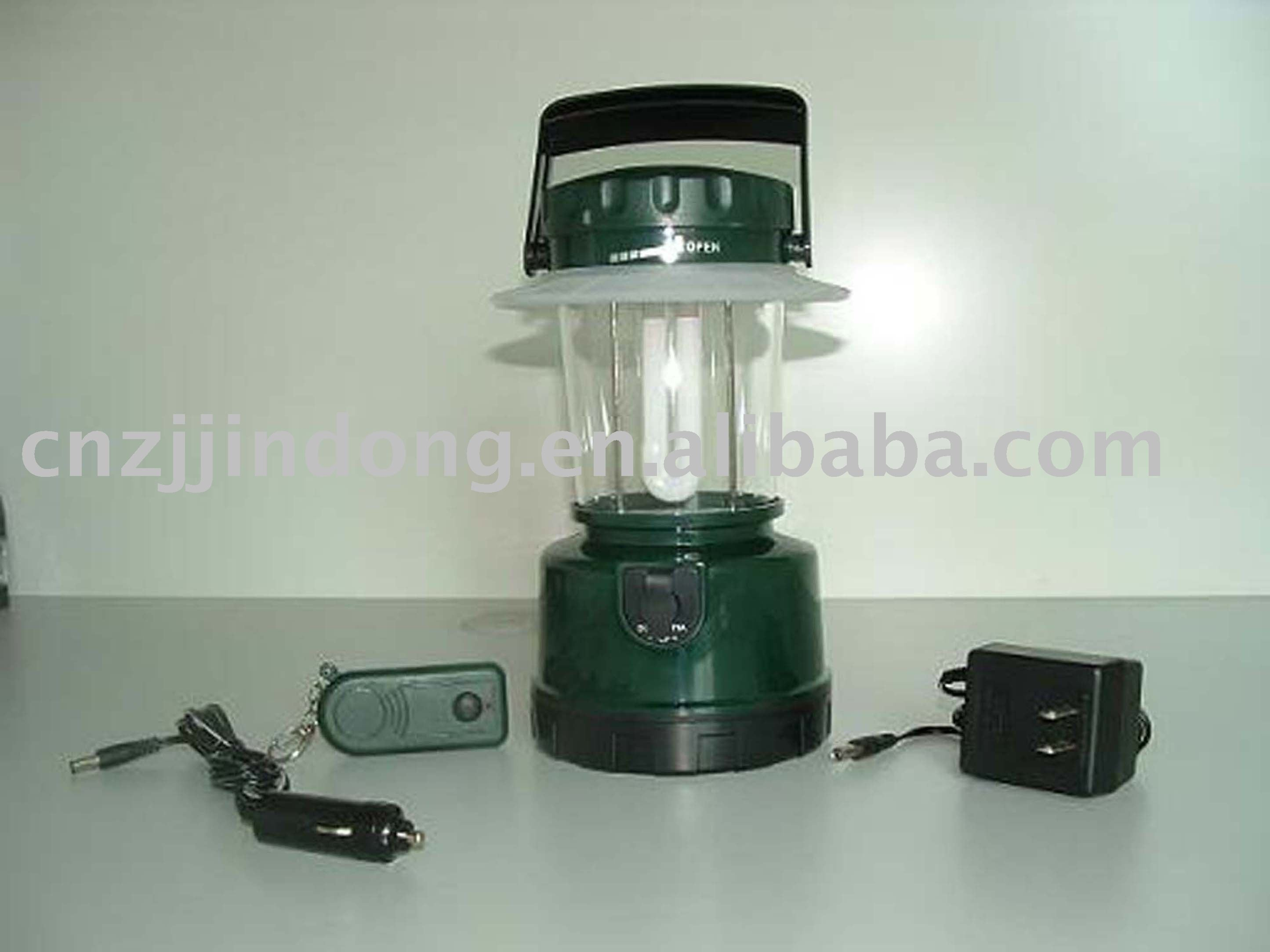 Promotional 7w Or 9w Energy Saving Rechargeable Camping Lantern With