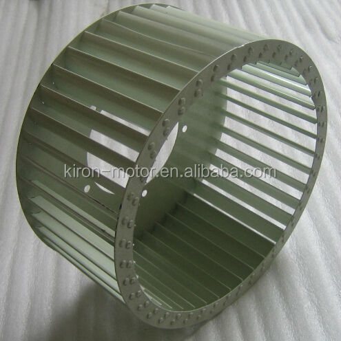 Centrifugal blower fan wheel