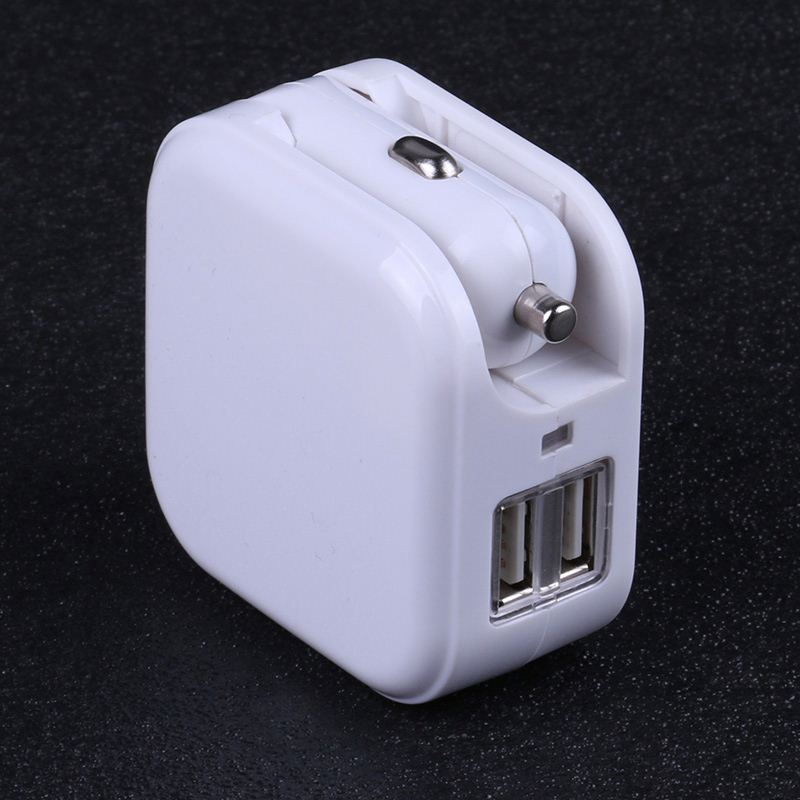 2 in 1 multifunction usb wall charger and car charger ,H0T044 dual port usb travel charger , wall plug with usb