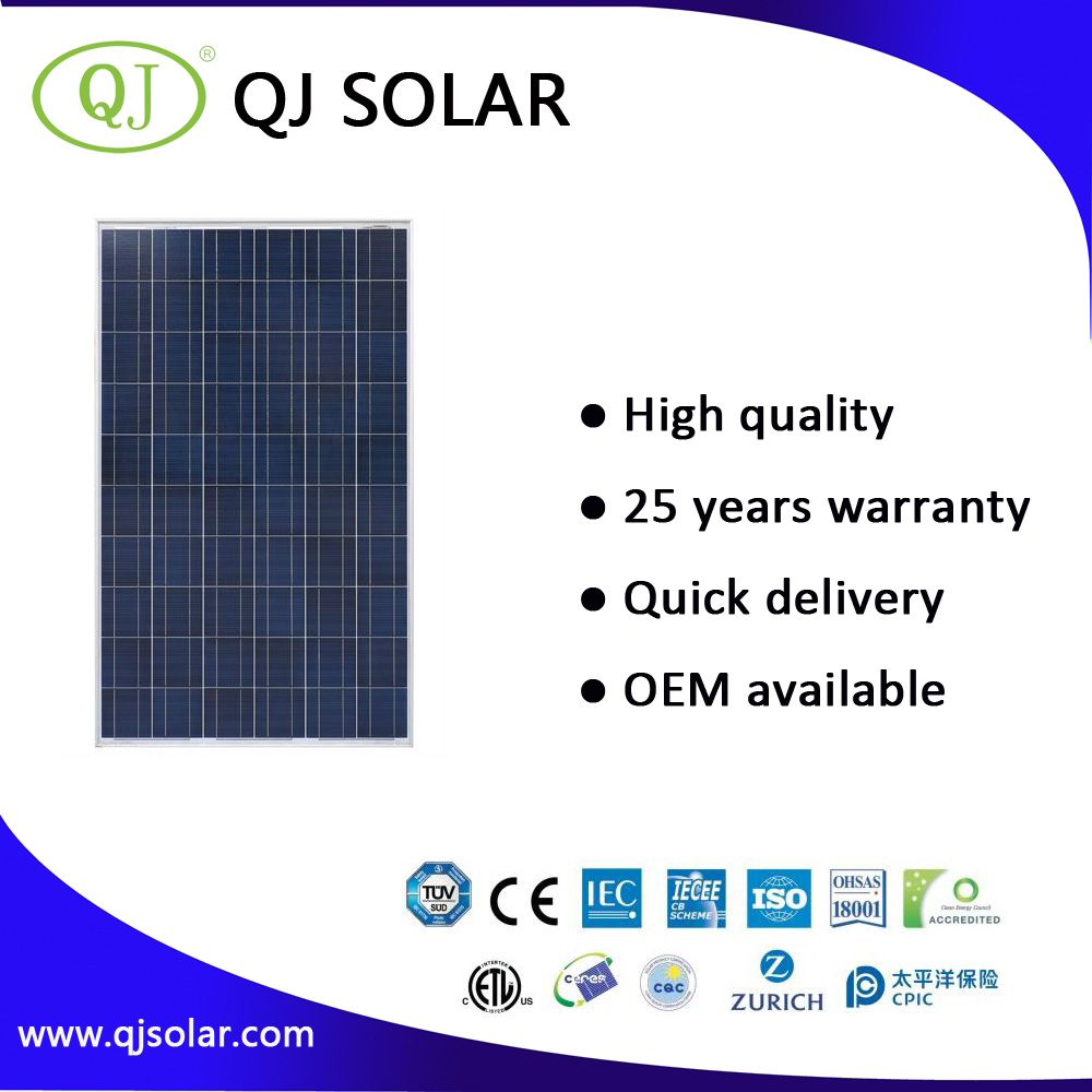 High Quality 250W PV Solar Panel With Competitive Price/Home Solar Energy System/solar panel
