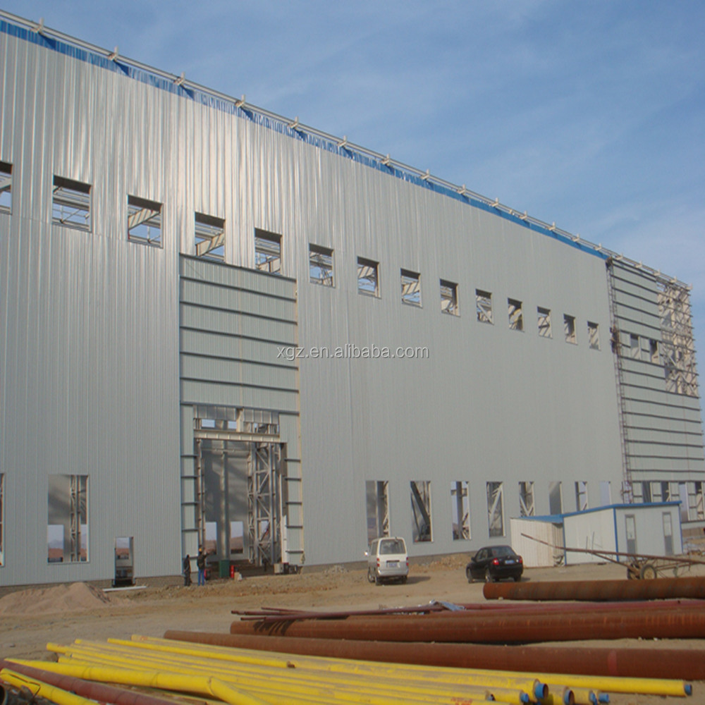 Construction Warehouse Building Steel Frame Warehouse