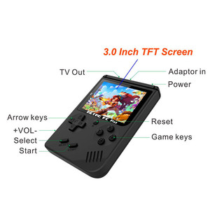 Excel Digital Video Game Console 3 Inch 168 Games Retro FC Handheld Game console Best Gift for kids