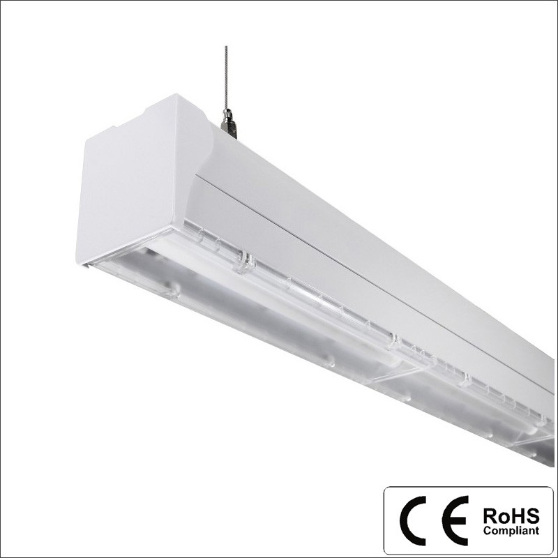High Quality CE RoHS Modern Indoor pendant recessed trunking light trunking system led linear light
