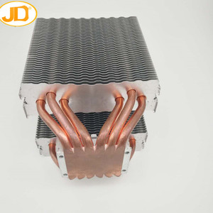 140mm copper bonded pin fin heatsink with low price