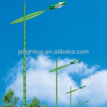 Green Bamboo Shape Street Light Poles/led Street Lighting Pole ...