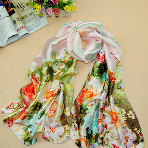 Phealthy Cheap factory directly sale fashion head shawl women muslim blend printed scarf hijab
