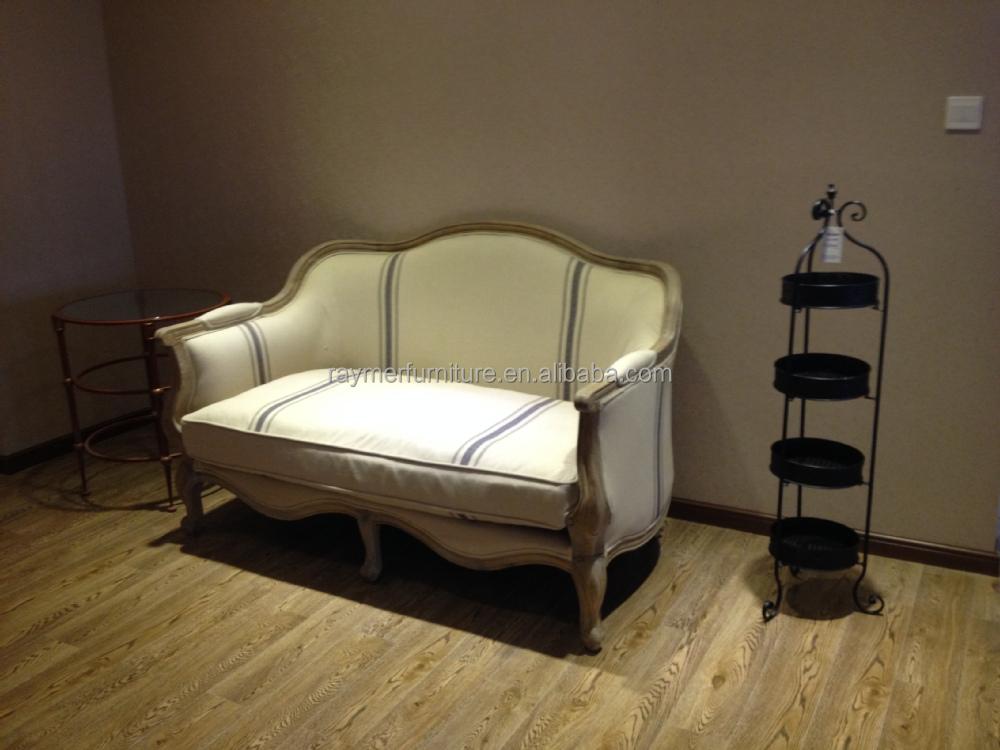 Franse landelijke stijl houten gesneden vintage rustieke loveseat bank sofa buy product on - Sofa stijl jaar ...