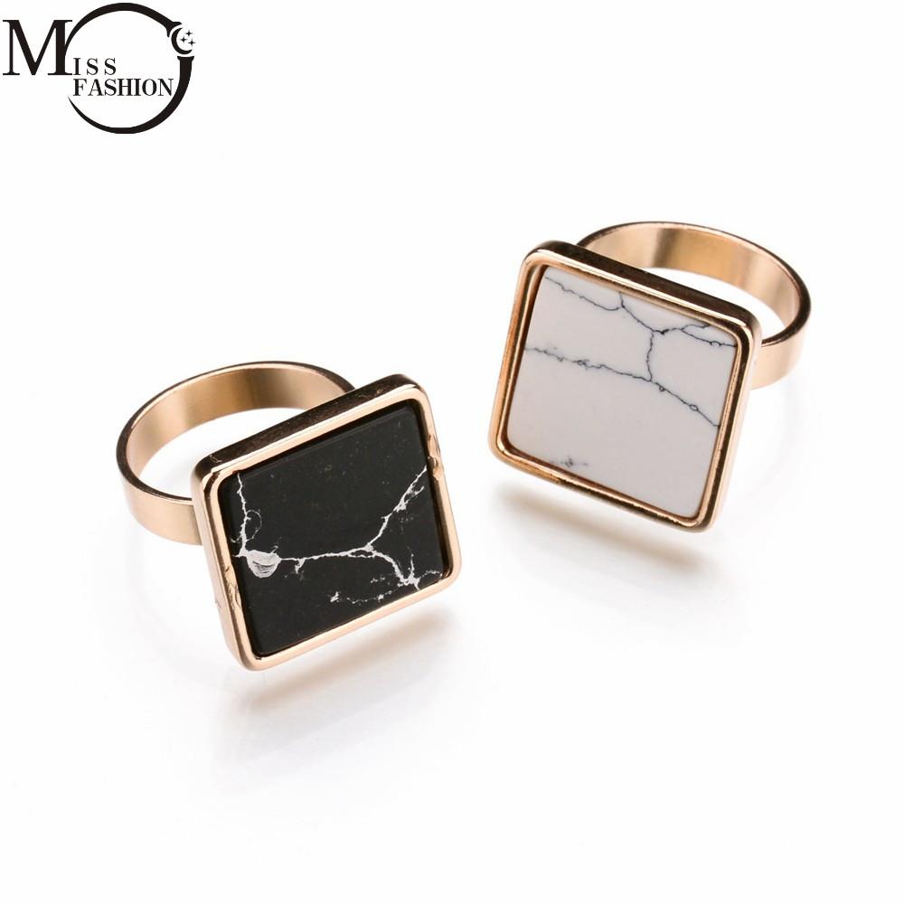 black stone gold ring - photo #18