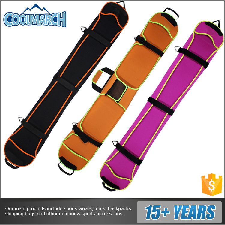 100% polyester material ski board bag snowboard bags for outdoor skiiing
