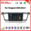 Kirinavi WC-PT7508 Android 5.1 car navigation for peugeot 508 2011+ car dvd gps touch screen player car stereo