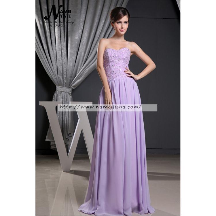 Venta al por mayor vestido niña de fiesta color lila-Compre online ...