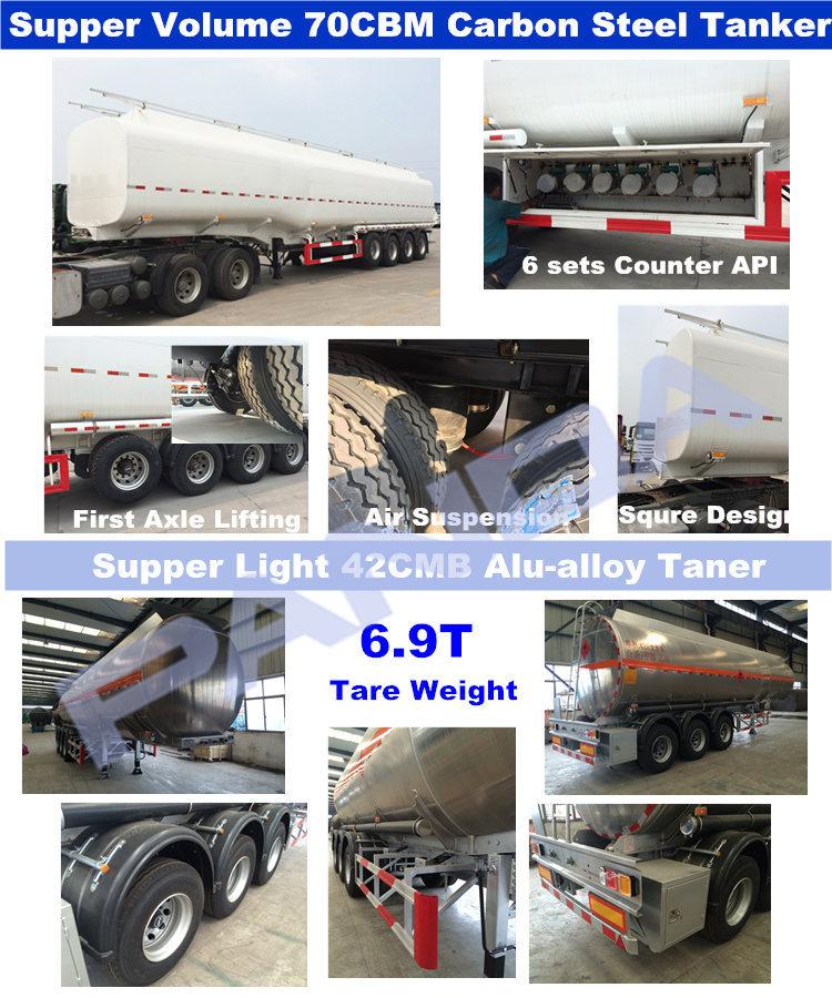 Panda Fuel Tanker Semi-trailer,Heavy Fuel Tanker Semi Trailer,Oil ...