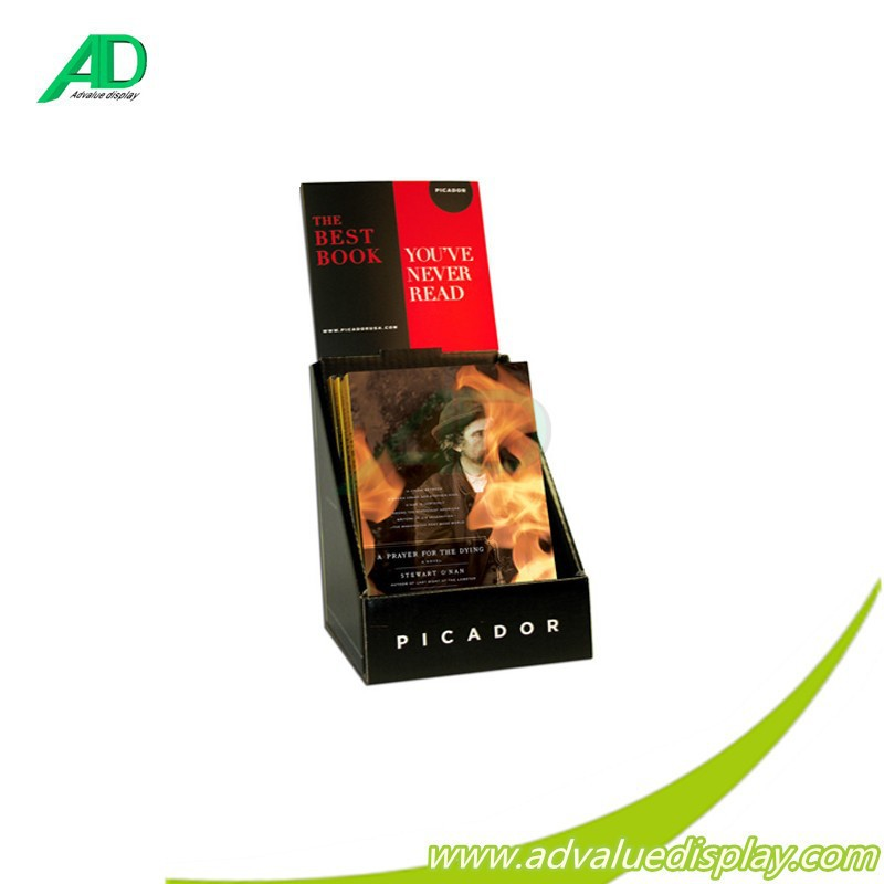 cheap cardboard single book display stand manufacturer