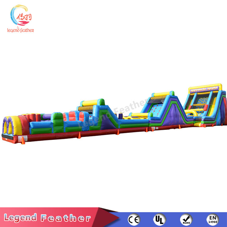 Customized Size the Beast Inflatable Obstacle Course for Sale