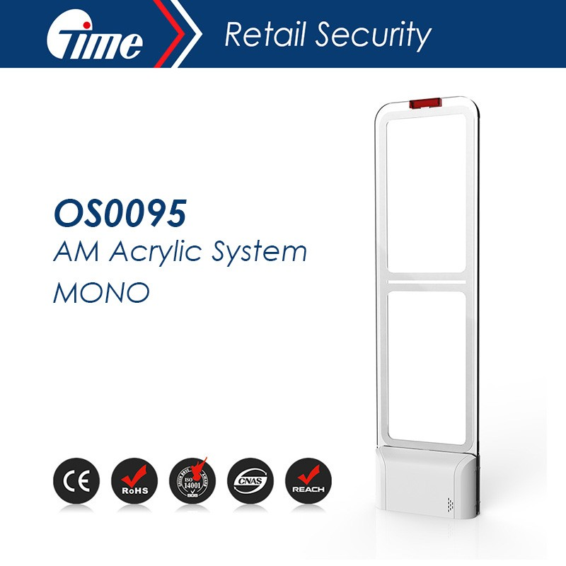 ONTIME OS0095 - EAS Anti-theft 58KHZ Acrylic System MONO for top clothes store AM system