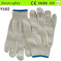 good quality cotton hosiery winter hand glove