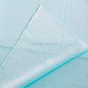Tpu Film Bonded Shaoxing Textile 100%Polyester Coolmax Quick Dry Mesh Bird's Eye Fabric