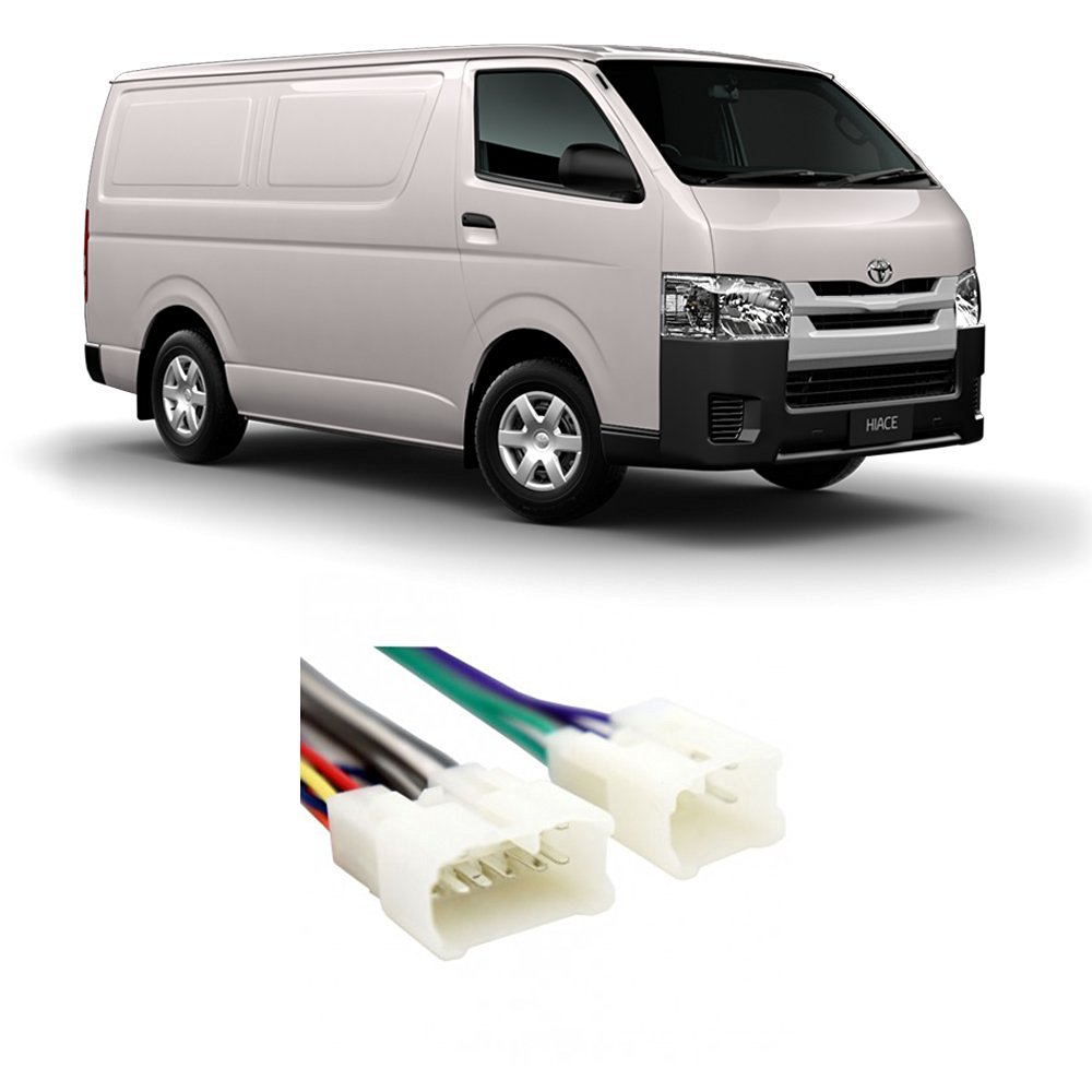 Get Quotations · Toyota Van 1987-1990 Factory Stereo to Aftermarket Radio  Install Harness Adapter