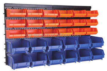 Superieur Wall Mount Storage Bin Kit 30 Pcs With Stackable Boxes
