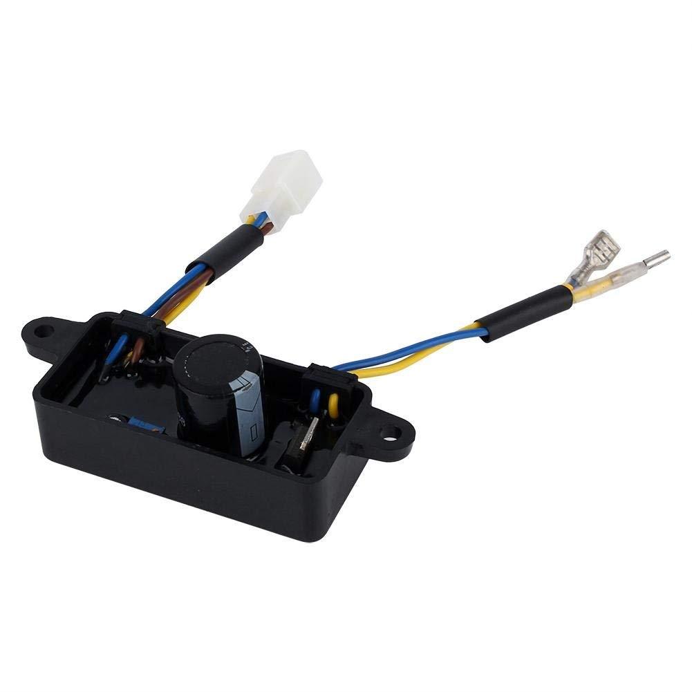 1PCS Voltage Regulator Rectifier Single Phase AVR For 2KW-3KW Gasoline Generator