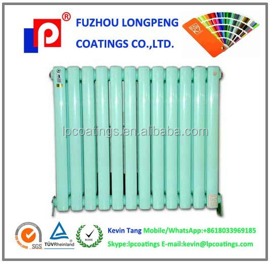 Ukrainian radiator Epoxy powder coating