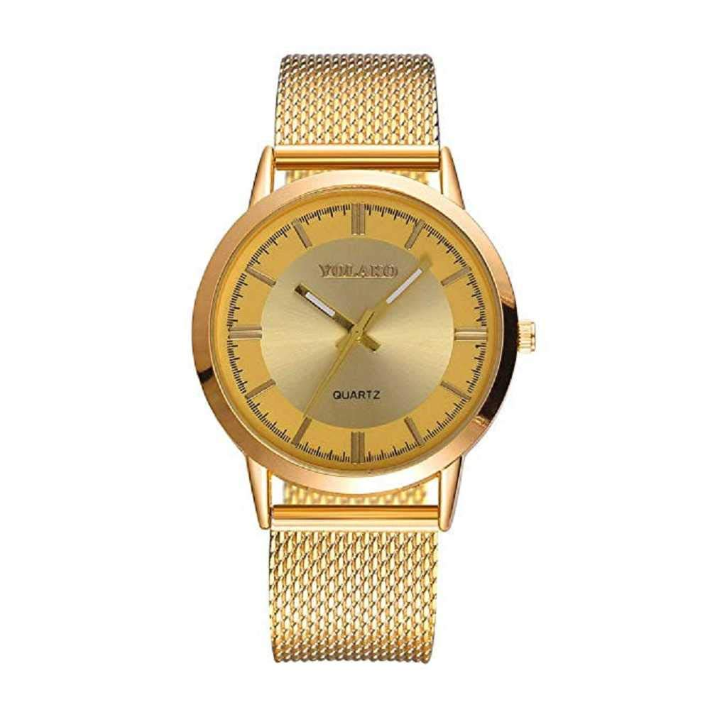 Womens Watches,ICHQ Womens Watches Sale Ladies Classic Stainless Steel Mesh  Band
