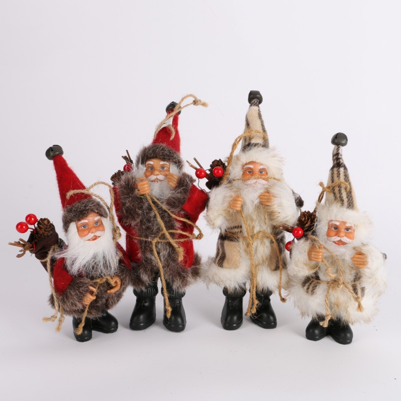 Christmas Santa Claus Doll Toy Christmas Tree Exquisite For Home Xmas Happy New Year Gift Ornaments Decoration