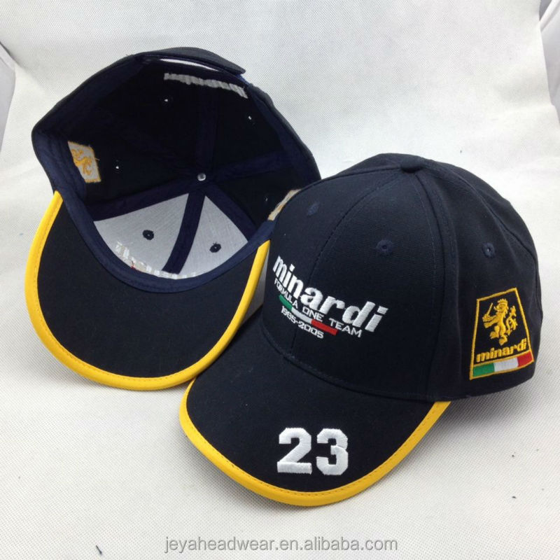 5aaa9f42d35 23 Embroidery baseball cap Checked Cotton Baseball Caps custom baseball cap  for Minardi