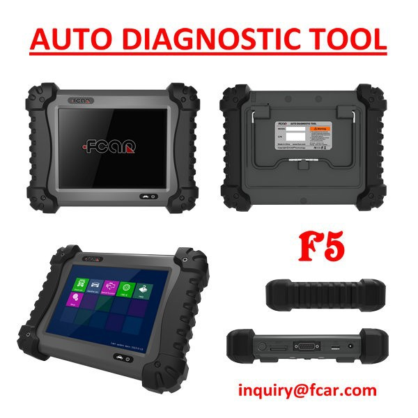 Gasoline and Diesel Heavy Duty Truck Diagnostic Tools , all in one Scanner