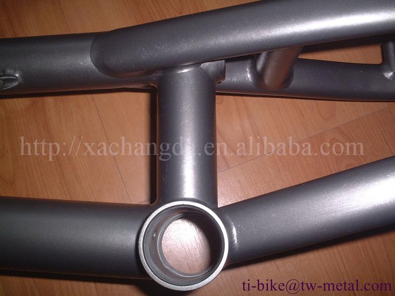 2016 nuevo diseño! titanio marcos de bicicleta bmx 20 pulgadas ti ...