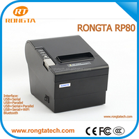 Thermal printer auto cutter rp80, Printer support windows 2000/xp/7/vista, online order restaurant thermal printer China