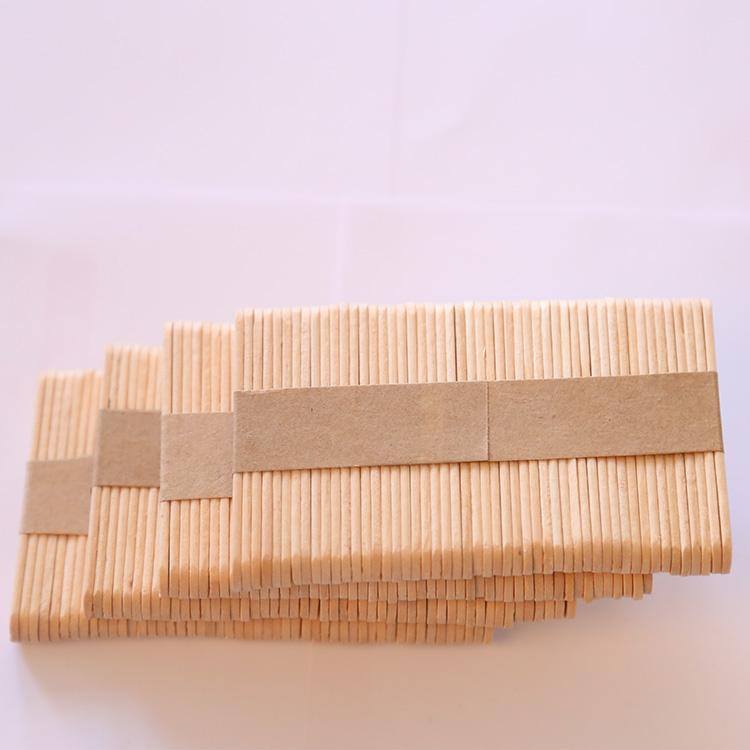 Artesanía de madera//Hielo Lolly Stick-Natural 100 por paquete