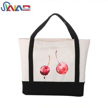 Folded grocery bag shopping box full sublimation tote bag popular wholesale