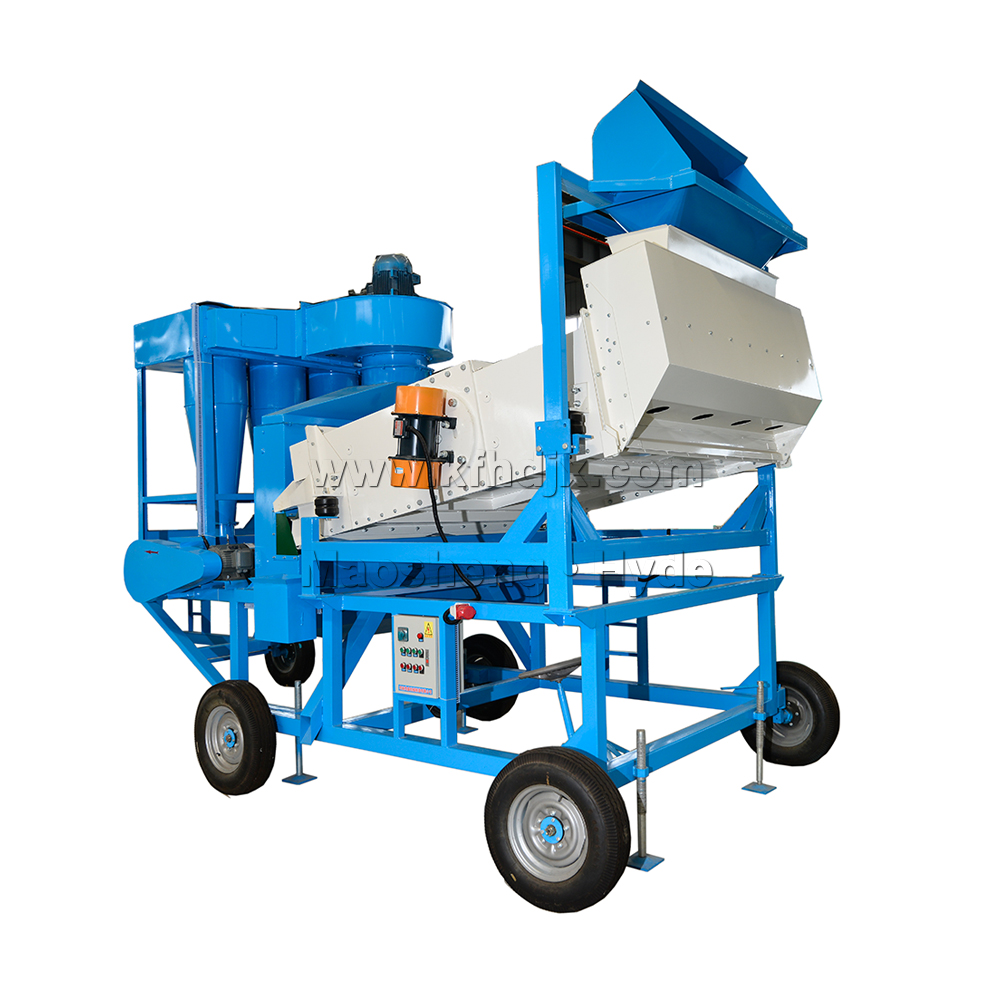 Hyde Machinery Mobile Green Mung Bean Cleaning Sorting Machine