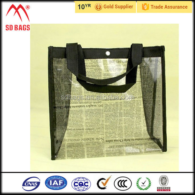 China wholesale pvc mesh bag , pvc bag making machine